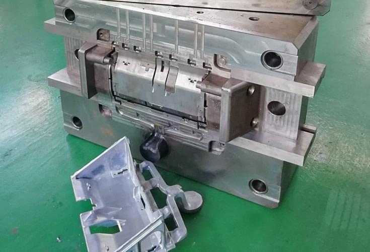 aluminium die casting part machining
